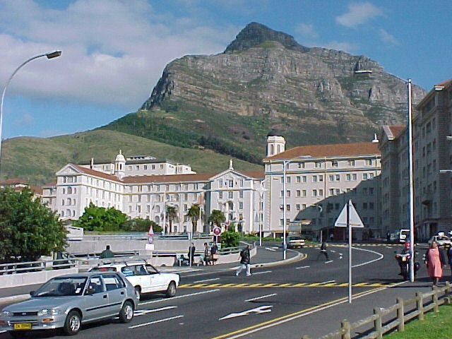 The famous Groote Schuur Hospital where the world's first heart transplant took place in 1968.