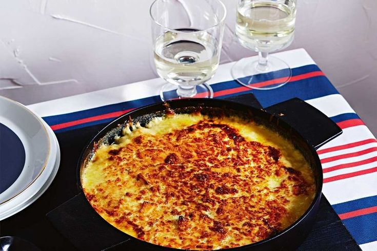 Turnip and swede gratin