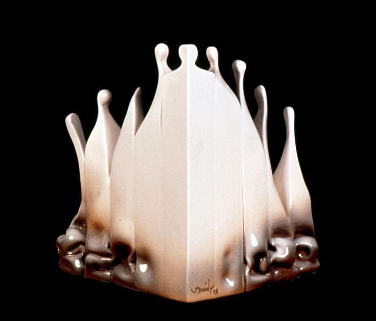 Kemal ULUDAĞ, 1998, Human Constructions 4 - İnsan Yapıları 4, 30x25x25 cm. Stoneware-1200 °C