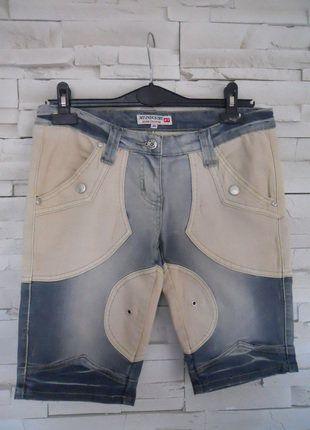 À vendre sur #vintedfrance ! http://www.vinted.fr/mode-femmes/short-en-jean/30741127-bermuda-jeans-my-industry-taille-3840