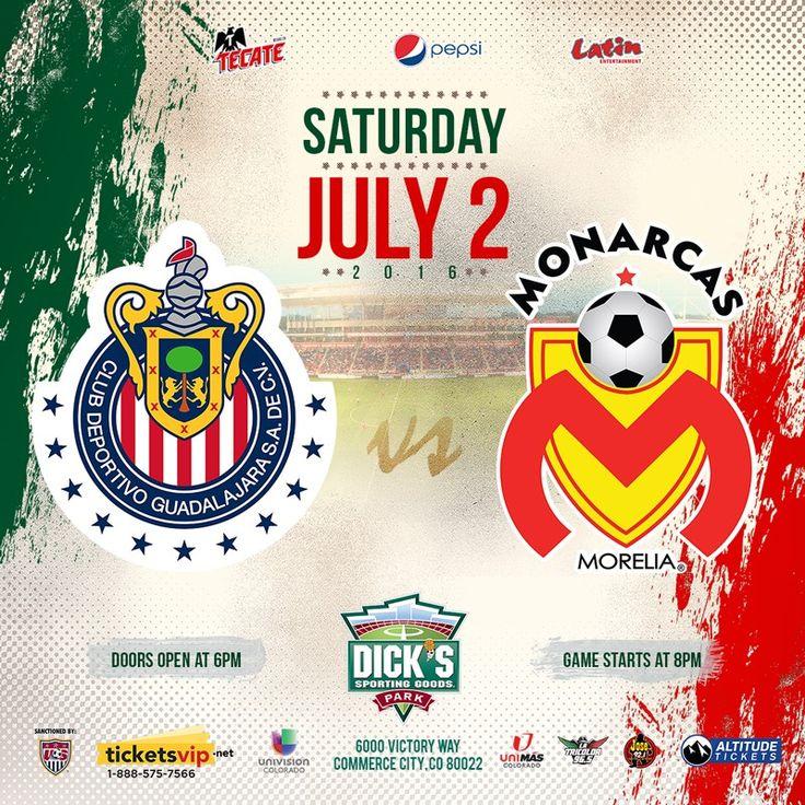 ENFRETARÁ CHIVAS A MONARCAS EN DENVER, COLORADO Aprovechando la gira de pretemporada por Estados Unidos, Chivas se medirá a Monarcas Morelia en un duelo pactado en Denver, Colorado, para el 2 de julio.