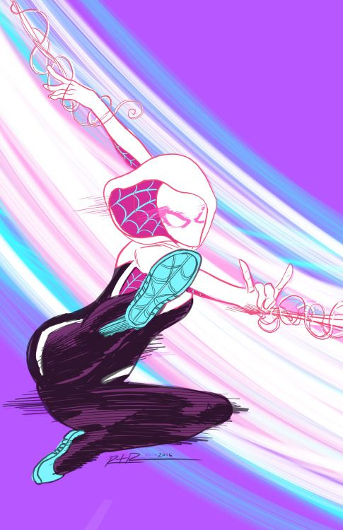 Spider-Gwen - Ross Radke