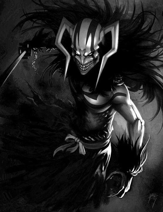 Ichigo In His Hollow Form