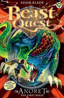 Anoret the first beast / by Adam Blade - request a copy from Prospect Library