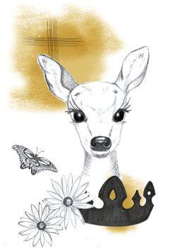 My deer - golden