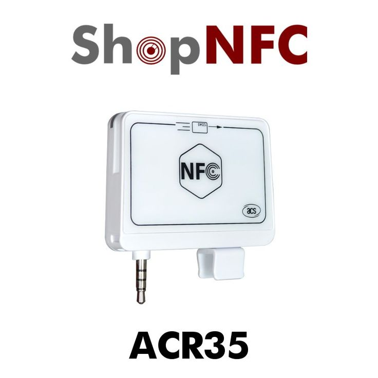 Combining two card technologies into one, ACR35 provides the flexibility to use magnetic stripe cards and NFC smart cards, for iPhones and Adnroid devices.