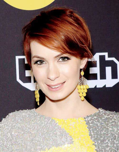 Here are 10 chic and showy red pixie hairstyles, from Short Haircut: If you're looking for a new appearance for your short haircut, there are two excellent reasons to go with a red short pixie hair. For one thing, red is one of the exact fresh colors this season from strawberry blonde to [...]