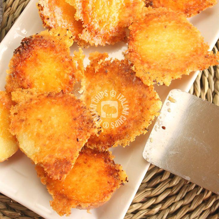 Patate Arrosto Con Crosta di Parmigiano