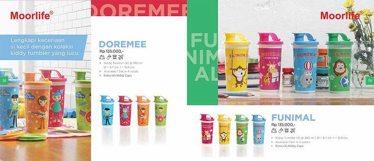 Moorlife Doremee & Funimal Kiddy Tumbler (135.000) Harga diatas belum termasuk discount