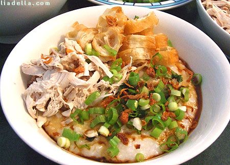 Chicken Porridge - Bubur Ayam
