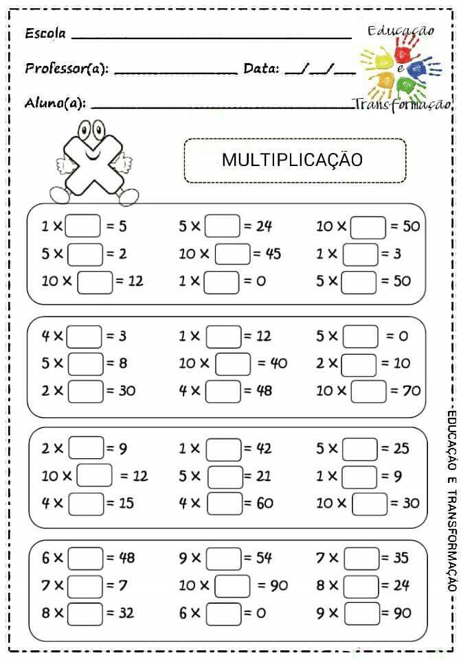 8 best Division images on Pinterest Multiplication tables, For - long multiplication worksheets