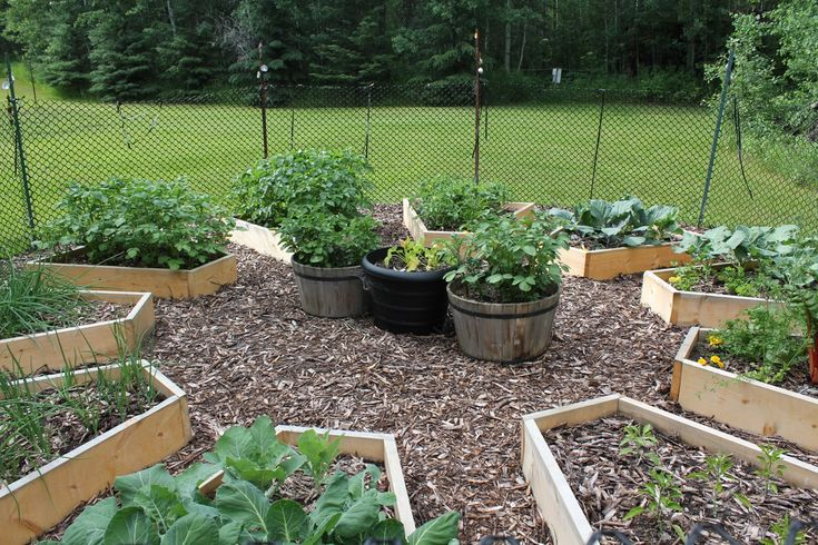 raised garden | more details on building the raised beds in the Medicine Wheel garden