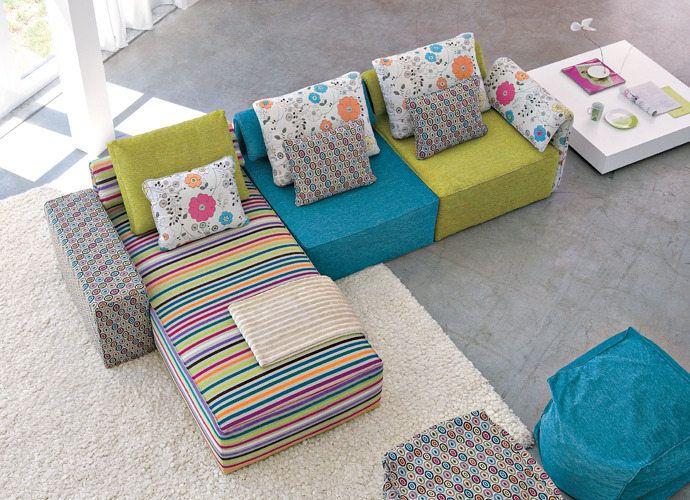 Linea Italia Kube Sofa - Suite 22 Interiors - Markham Toronto
