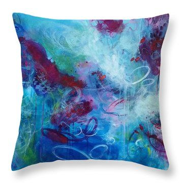 Untitled Throw Pillow by Amber Tattersall