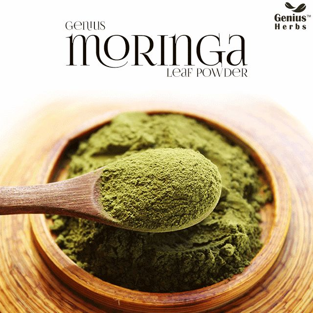 graphic design: Moringa Powder - Super healthy and Affordable