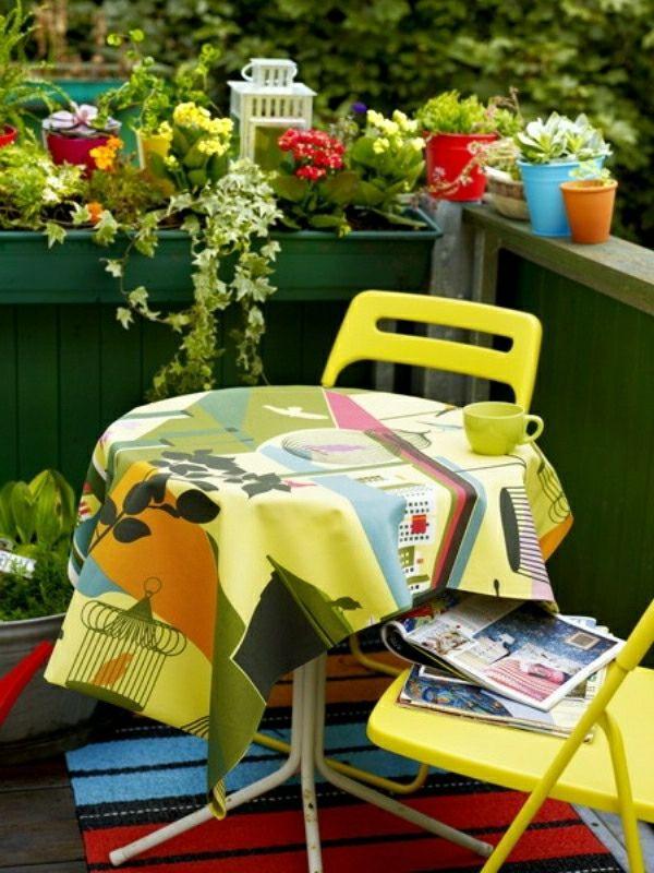 aménagement dun petit balcon , idées pour la petite place verte ...