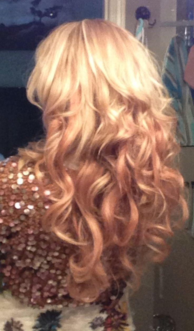 Carmel colour hair