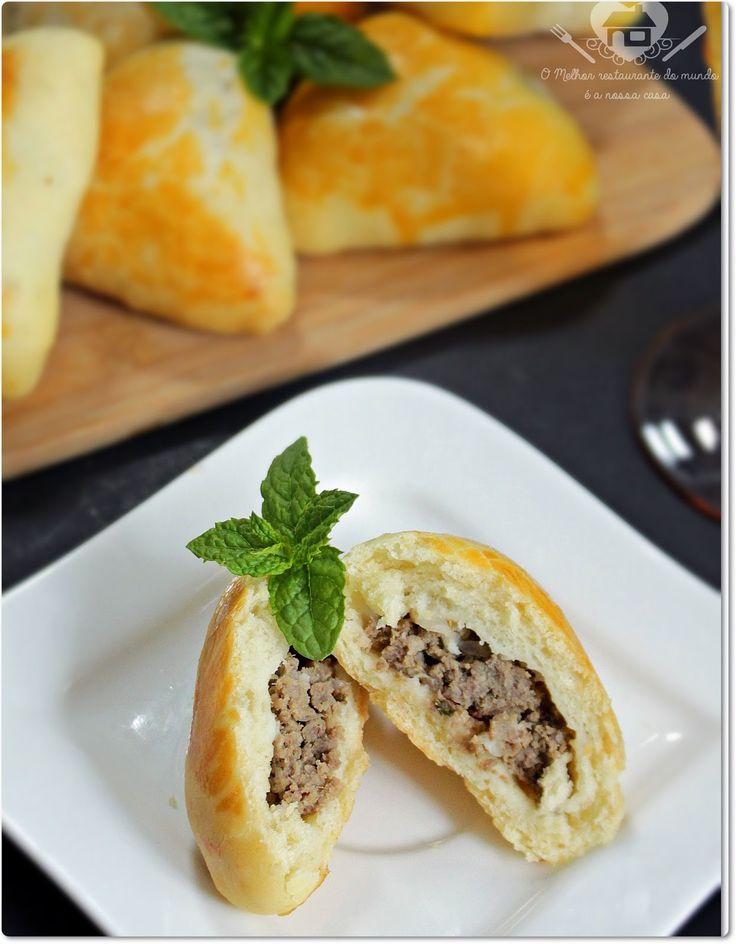 Receita de Esfiha Síria - O melhor restaurante do mundo é a nossa Casa