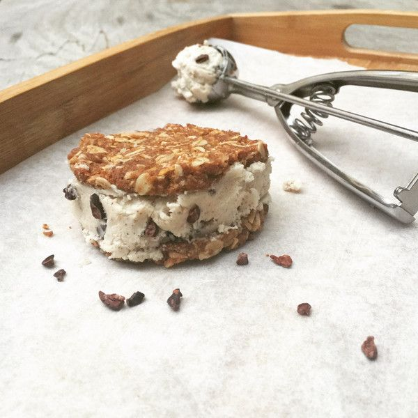 These barely made it into the oven.Vegan Ice Cream Sandwich Recipe. greenpress.co