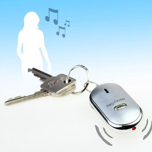 Schlüsselfinder der auf Dein Pfeifen mit einem Piepton und blinken reagiert.