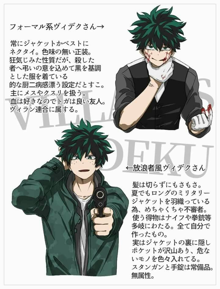 Villain Deku | My Hero Academia(僕のヒーローアカデミア