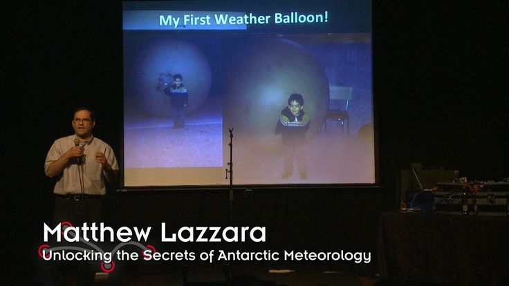 Matthew Lazzara, a meteorologist, is an associate scientist at UW–Madison and principal investigator of the Antarctic Automatic Weather Station Project. He i...