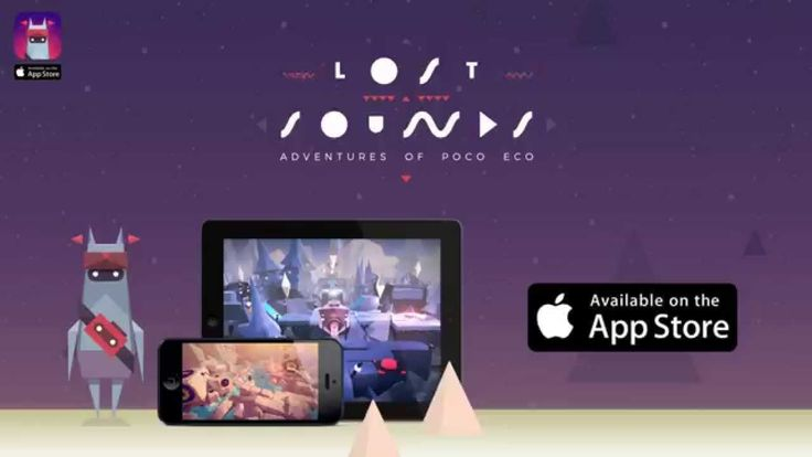 Adventures of Poco Eco: Lost Sounds - Available in the App Store!