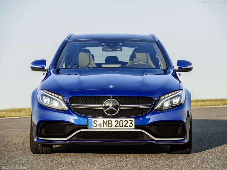 2015 Mercedes-Benz C63s AMG Front Angle