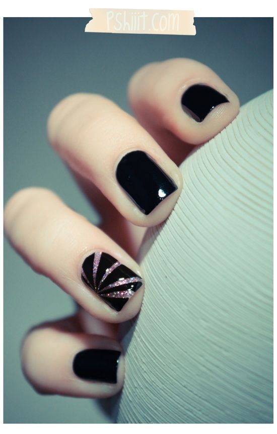 Gel manicure nail art. Yesssss. I think this is it.