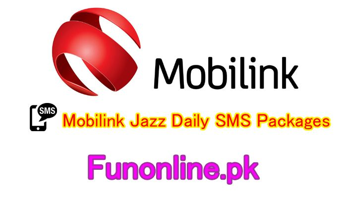 Mobilink Jazz Daily Sms Packages Details Subscribe Charges Sms