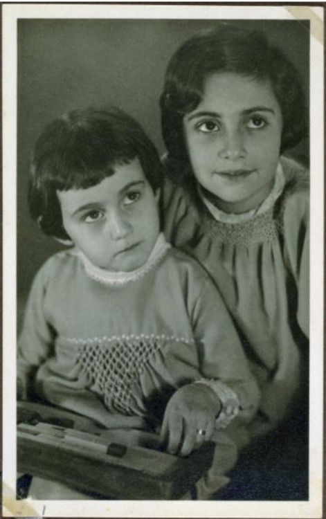 Anne and Margot Frank More