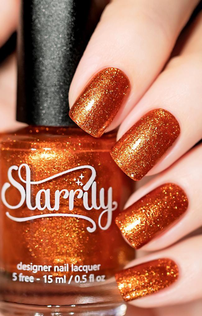 Opi Infinite Shine You Can Count On It Sunlight Orange Foil Nail Polish Nails Cruelty Free Nail Polish