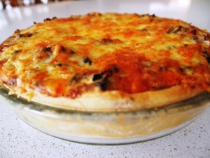 TUNA & VEGETABLE QUICHE