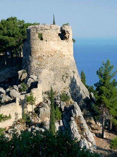 The Castle of Kyparissia, Peloponnese, Greece