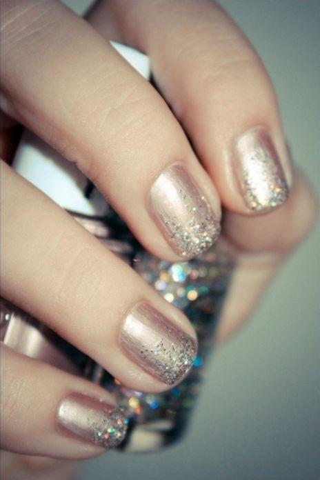 party nails #NYE