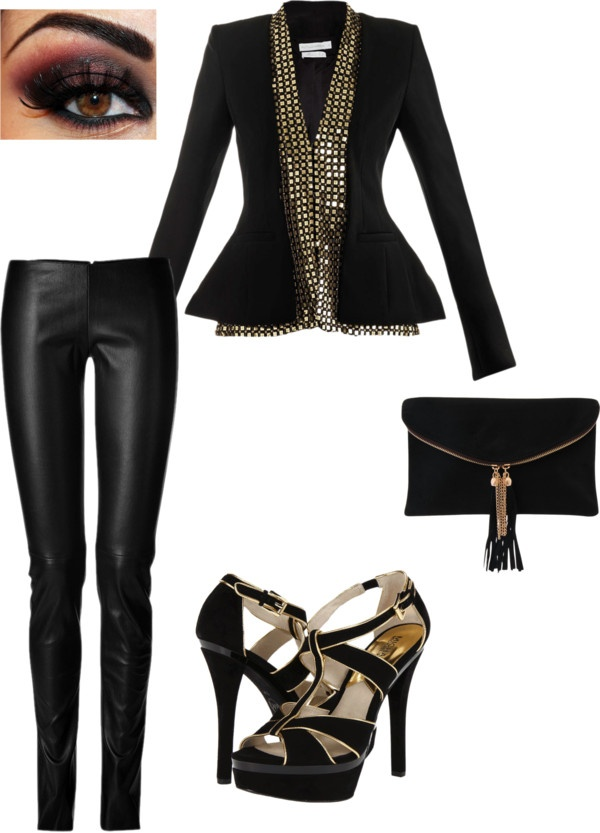 """""""girls night out!"""" by lkatestan on Polyvore"""