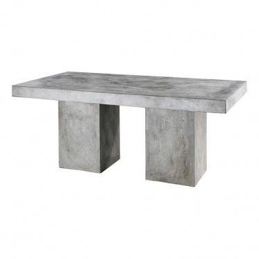 Table de repas en béton massif traitée anti taches. Idéal dans un jardin ou en mobilier urbain été comme hiver. Cette table peu être utilisé aussi bien à l'intérieur et à l'extérieur.