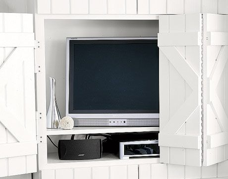Elegant Hidden Flat Screen Tv Cabinet