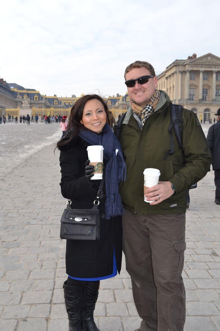 Starbucks in Versailles!!!