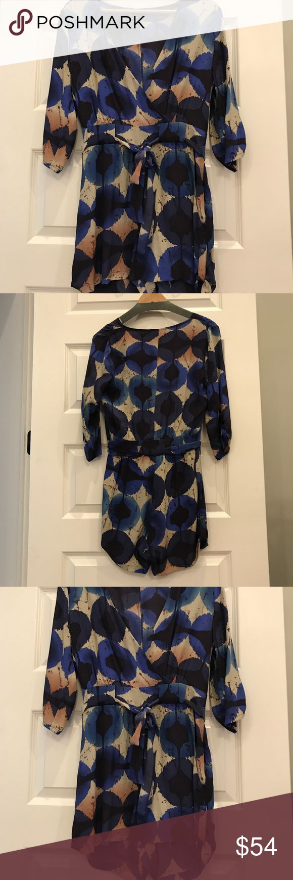 Charlie Jade silk printed romper Adorable dress up romper, great with tights for fall charlie jade Other