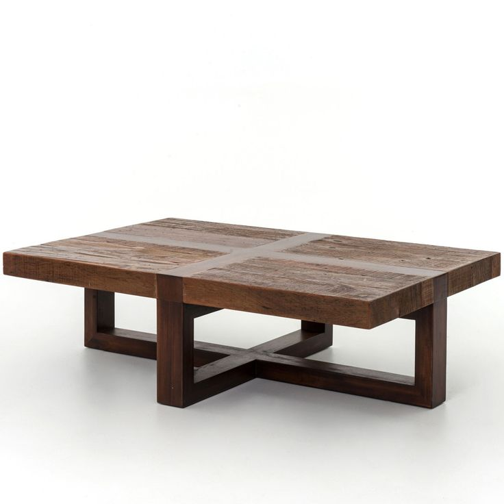 In the realm of environmentally conscious design, the Bryan Coffee Table stands apart. Crafted by hand from sustainably harvested and reclaimed woods, the Bryan effortlessly merges old and new worlds