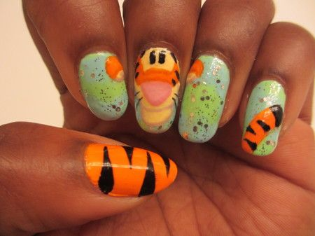 20 best images about Tigger on Pinterest   Nail art, Trips ...