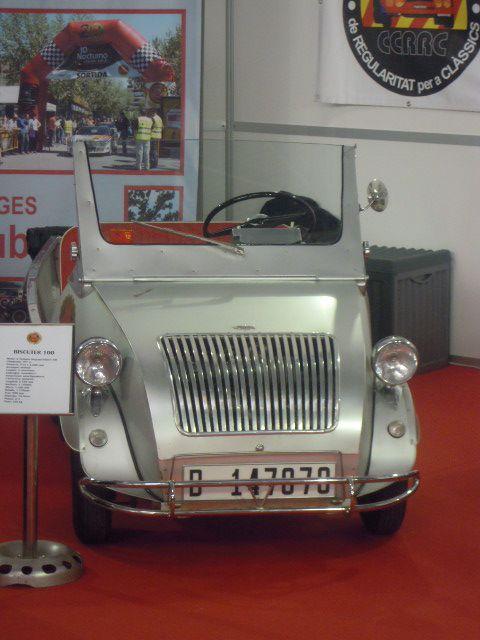 Biscuter tuvo su propio stand con diferentes versiones de este simpático vehículo.