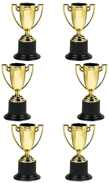 Trophies and Awards Mini Plastic Trophies