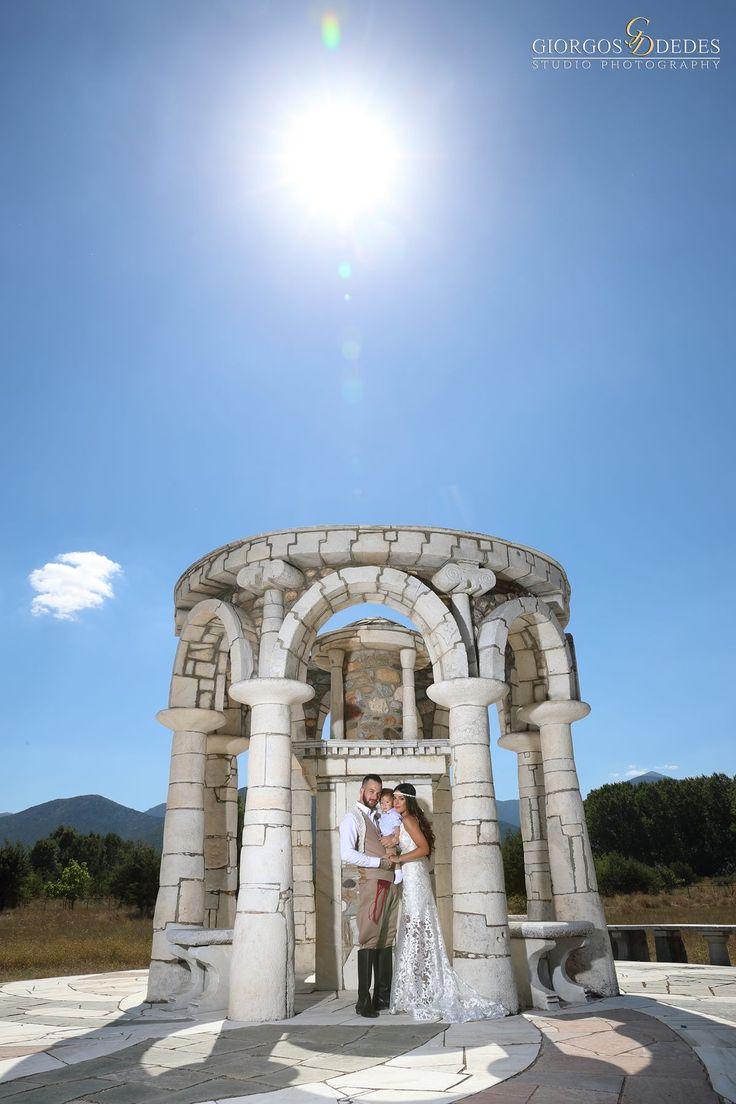 Φωτογράφιση γάμου-βάπτισης στην Αγία Φωτεινή στην Αρχαία Μαντινεία