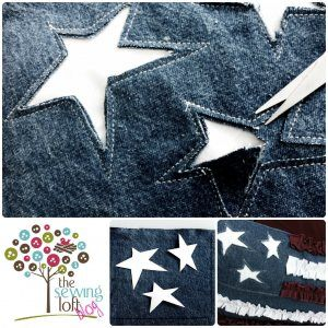 {How To} Reverse Applique...maybe jean quilt top?!