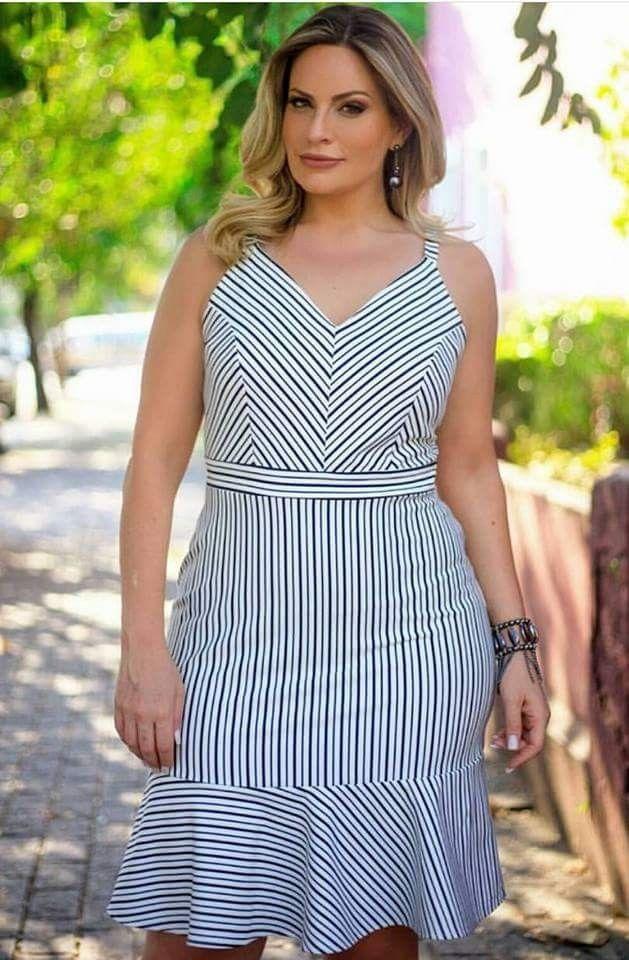 fb36b19d5 vestidos grandes | esto | Vestidos casuais, Vestidos, Vestidos ...