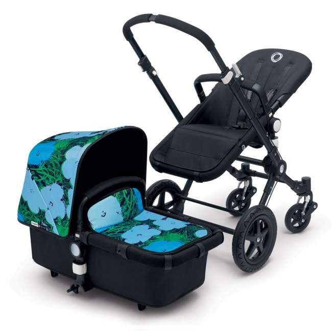 Bugaboo Cameleon3 Andy Warhol Stroller Flowers limited edition