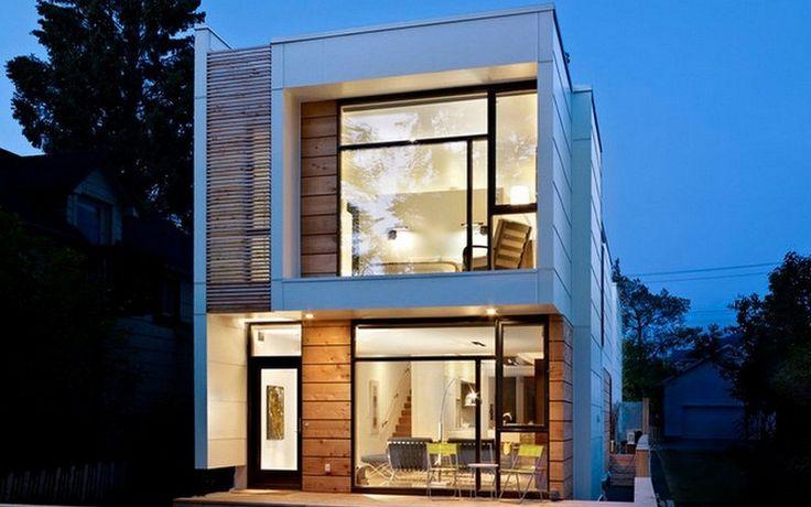 Betrügerisch klein: Schmales Haus sieht von außen klein aus, hat aber einen riesigen Innenbereich