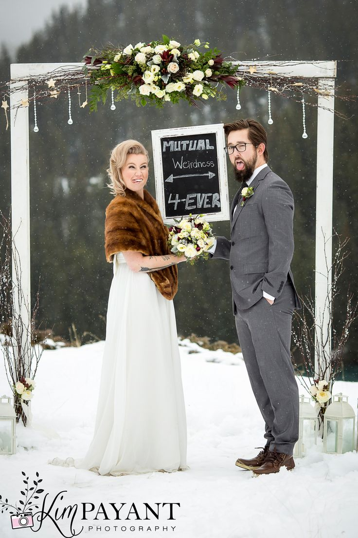 Outdoor Winter Wedding Dress Gallery